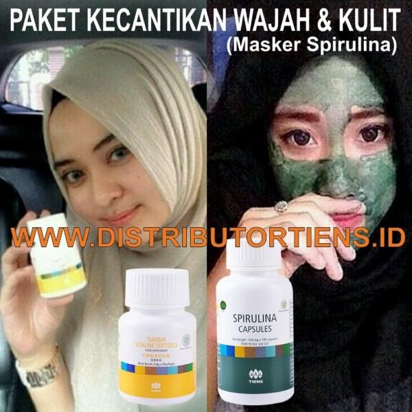 Paket Kecantikan Wajah Spirulina (Copy)